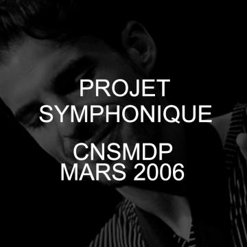 Samy THIEBAULT Projet Symphonique